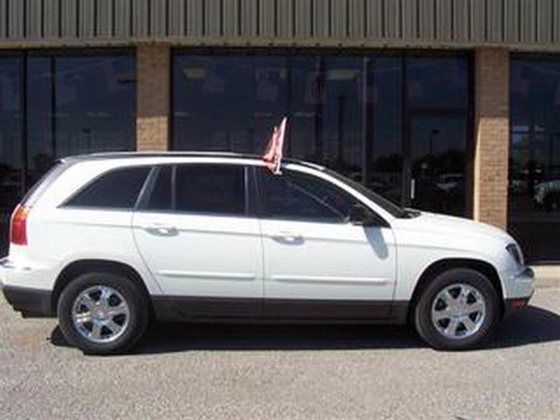 2005 chrysler pacifica for sale woodward ok cylinder stone white id. Black Bedroom Furniture Sets. Home Design Ideas