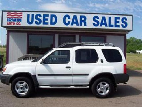 2001 nissan xterra for sale woodward ok cylinder white id 500078299. Black Bedroom Furniture Sets. Home Design Ideas