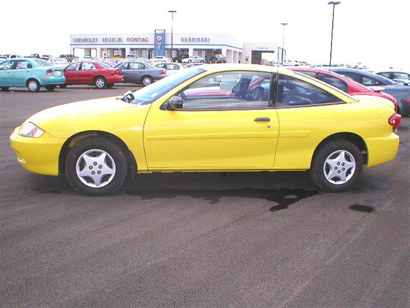 2005 chevrolet cavalier for sale kingfisher ok 2 2 4 cyl cylinder yellow. Black Bedroom Furniture Sets. Home Design Ideas