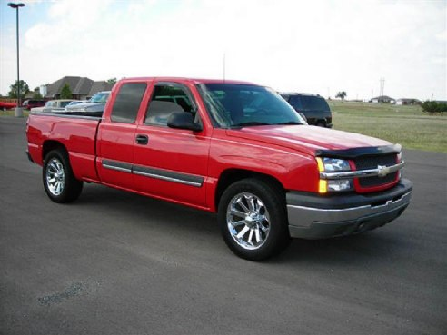 2003 chevrolet silverado 1500 for sale kingfisher ok 5 3 8 cyl cylinder red www. Black Bedroom Furniture Sets. Home Design Ideas