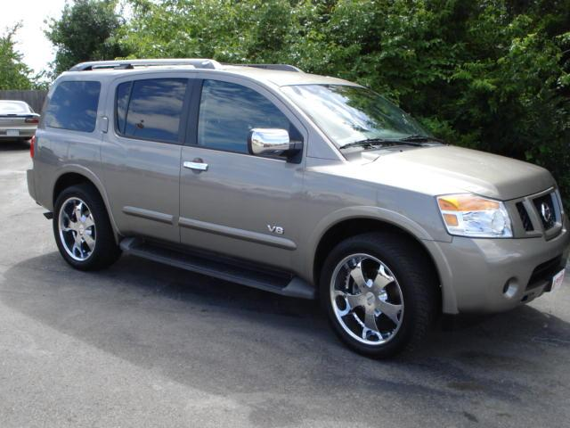 2008 nissan armada se for sale  pryor ok  5 6 8 cylinder tan
