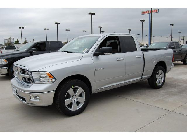 2010 dodge ram 1500 slt for sale norman ok 4 7l 8 cylinder bright silver. Black Bedroom Furniture Sets. Home Design Ideas