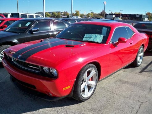 2010 dodge challenger srt8 for sale norman ok 6 1l 8 cylinder dk red. Black Bedroom Furniture Sets. Home Design Ideas