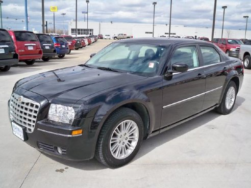 2009 chrysler 300 series touring for sale norman ok 3 5l 6 cylinder black. Black Bedroom Furniture Sets. Home Design Ideas