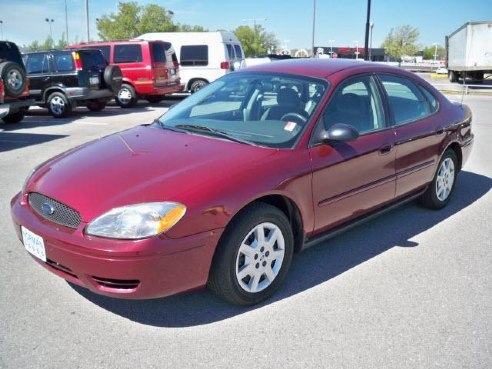 2007 ford taurus se for sale norman ok 3 0l 6 cylinder maroon id. Black Bedroom Furniture Sets. Home Design Ideas