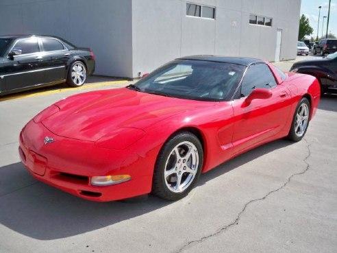 2003 chevrolet corvette corvette for sale norman ok 5 7l 8 cylinder red. Black Bedroom Furniture Sets. Home Design Ideas
