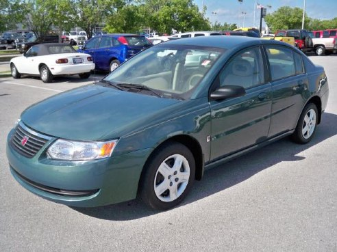 2007 saturn ion for sale norman ok 2 2l 4 cylinder green. Black Bedroom Furniture Sets. Home Design Ideas