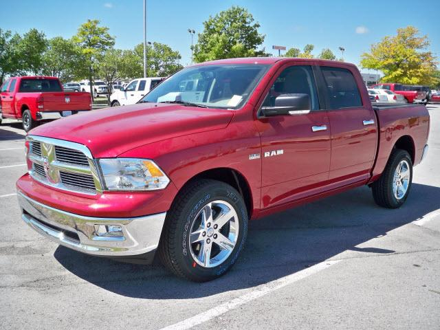 2010 dodge ram 1500 slt for sale norman ok 5 7l 8 cylinder dk red. Black Bedroom Furniture Sets. Home Design Ideas