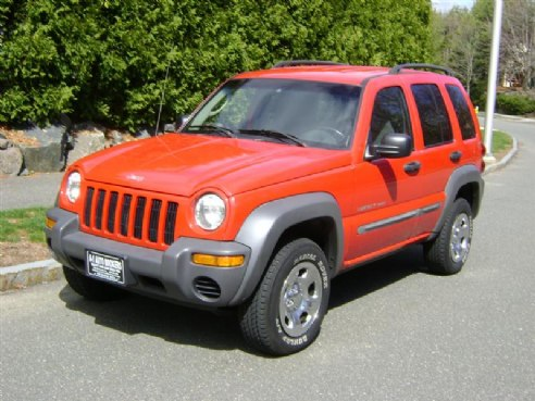 2002 jeep liberty sport for sale salem ma 6 cylinder red id 501506529. Black Bedroom Furniture Sets. Home Design Ideas