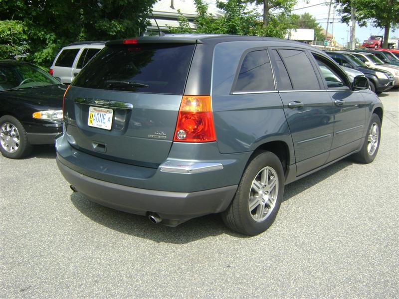 6 Passenger Vehicles >> 2007 Chrysler Pacifica Touring for sale, Salem MA, 6 Cylinder,TEAL - www.cartrucktrader.com (id ...