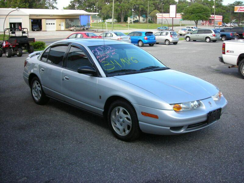 2002 Saturn Sl Sl2 For Sale Live Oak Fl 4 Cylinder