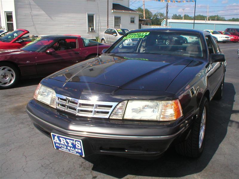 Ford Thunderbird Sport Black Piqua Oh