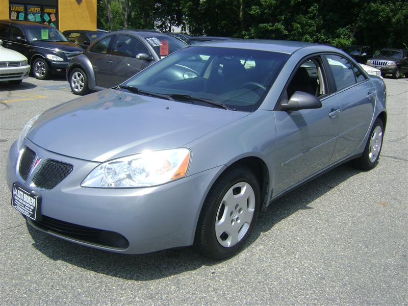 Used Nissan Altima For Sale >> 2007 Pontiac G6 1SV Value Leader for sale, Salem MA, 4 ...