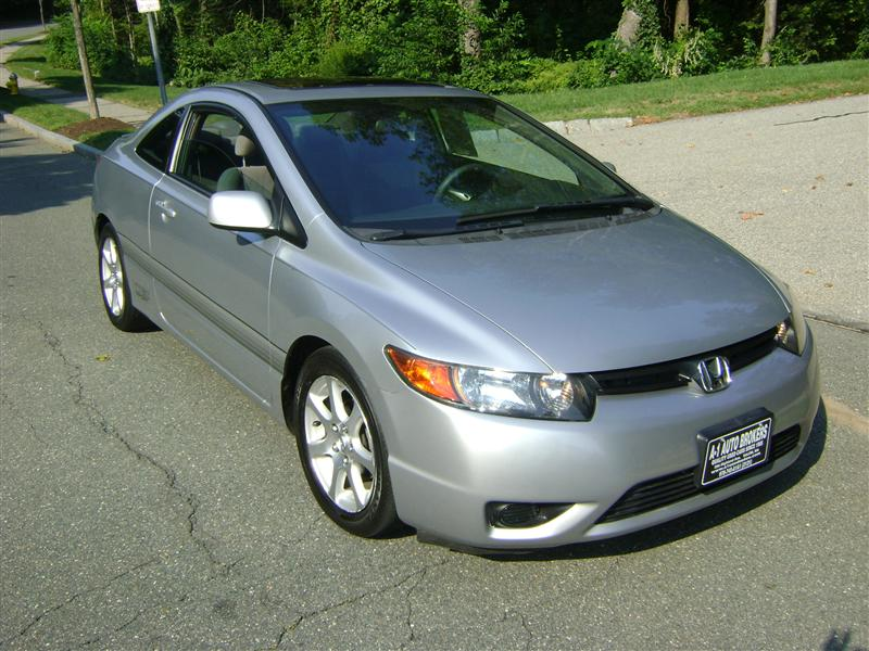 2006 Honda Civic Lx For Sale Salem Ma 4 Cylinder Silver