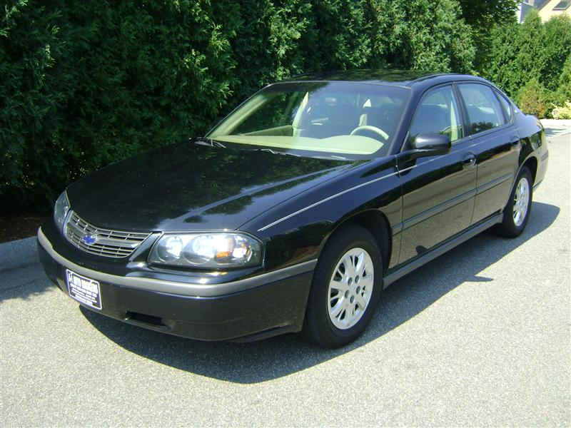 2003 Chevrolet Impala For Sale Salem Ma 6 Cylinder Black