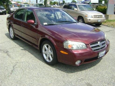 Exceptional 2002 Nissan Maxima SE BURGANDY, Salem, MA