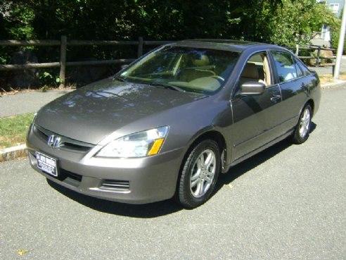 2007 Honda Accord Exl For Sale Salem Ma 4 Cylinder Lt Brown Www