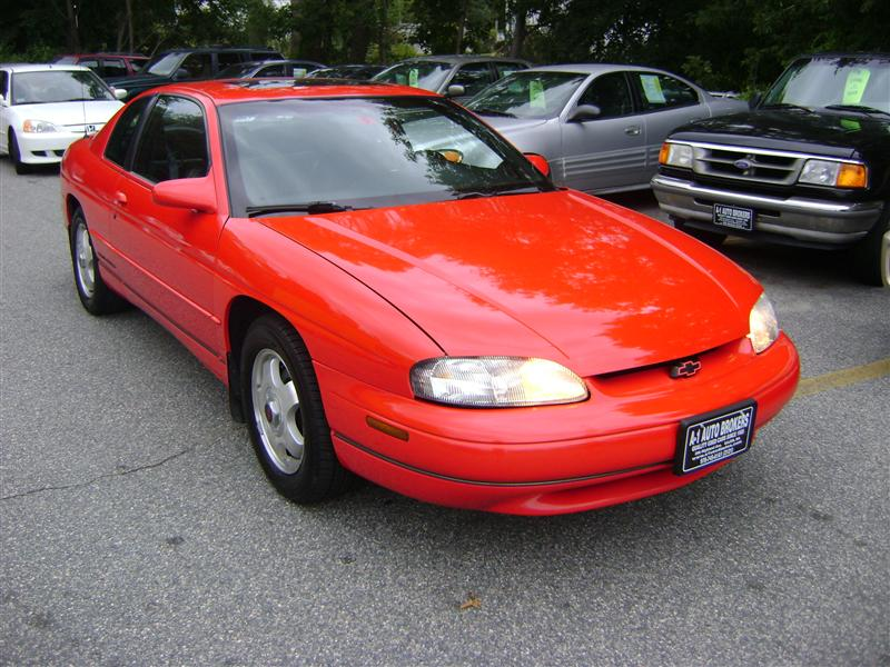 1998 Chevrolet Monte Carlo Z34 For Sale Salem Ma 6