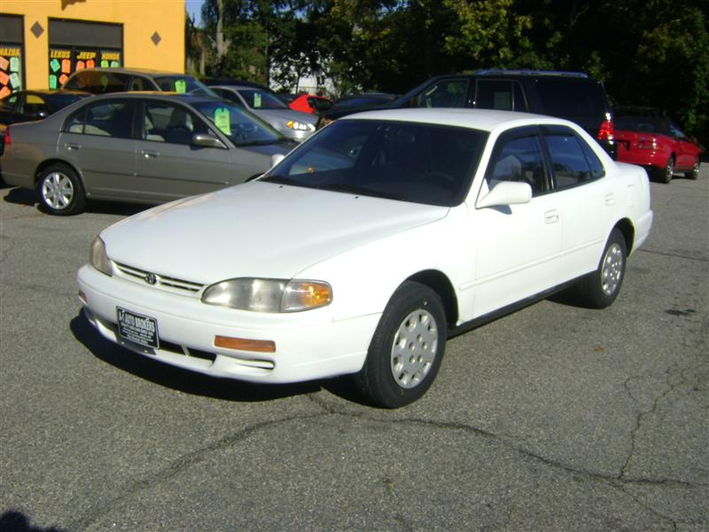 1996 Toyota Camry Le For Sale Salem Ma 4 Cylinder White