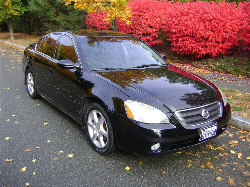 2002 Nissan Altima Se For Sale Salem Ma 6 Cylinder Black