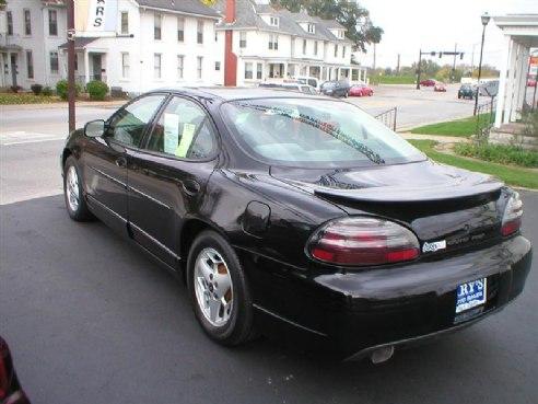 2001 Pontiac Grand Prix Gt For Sale Piqua Oh 38 6 Cylinderblack