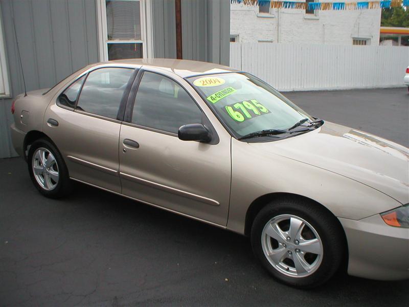 2004 Chevrolet Cavalier Ls For Sale Piqua Oh 4 4 Cylinderbeige