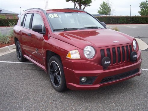 2008 jeep compass sport for sale norman ok 4 cylinder maroon id. Black Bedroom Furniture Sets. Home Design Ideas