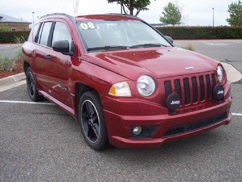 2008 jeep compass sport for sale norman ok 4 cylinder maroon id. Black Bedroom Furniture Sets. Home Design Ideas