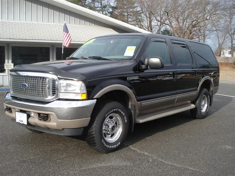 2002 Ford Excursion Limited for sale, Salisbury MA, V10 10 ...