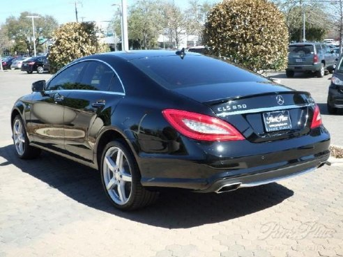 Image gallery 2014 cls550 black for 2014 mercedes benz cls class cls550 4matic