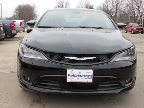 2015 Chrysler 200 S For Sale Pella Ia 3 6 L 6 Cylinder
