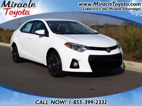 2015 toyota corolla s plus for sale winter haven fl 1 8l. Black Bedroom Furniture Sets. Home Design Ideas