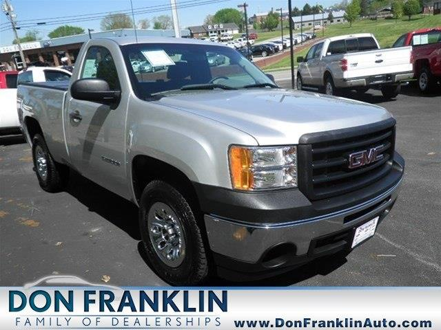 Don Franklin Somerset Ky >> 2012 GMC Sierra 1500 Work Truck for sale, Somerset KY, 4 ...