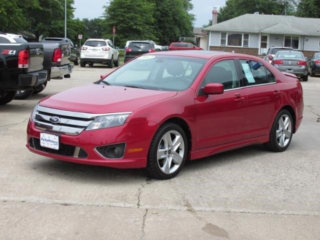 2012 ford fusion sport for sale pella ia 3 5l 6 cylinder red candy metallic tinted www. Black Bedroom Furniture Sets. Home Design Ideas