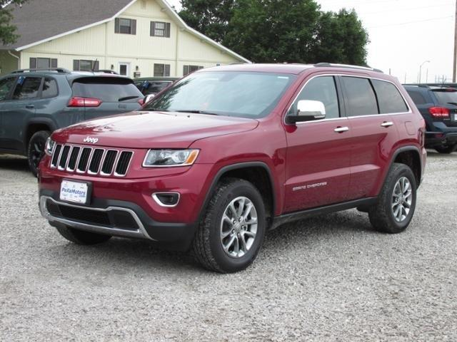 2015 Jeep Grand Cherokee Limited For Sale Pella Ia 3 6 L