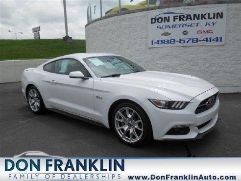2015 ford mustang gt white somerset ky - Ford Mustang Gt 2015 White