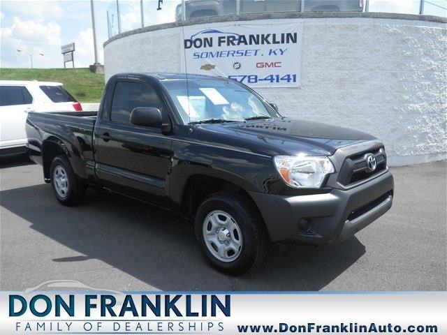 Don Franklin Somerset Ky >> 2013 Toyota Tacoma for sale, Somerset KY, 2.7L DOHC EFI 16 ...