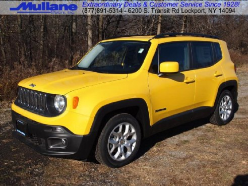 2015 jeep renegade latitude 4x4 for sale buffalo ny 2 4l i 4 cyl cylinder solar yellow www. Black Bedroom Furniture Sets. Home Design Ideas