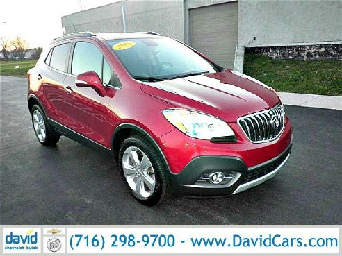 2015 buick encore convenience for sale niagara falls ny 1 4l 4 cyls cylinder ruby red metallic. Black Bedroom Furniture Sets. Home Design Ideas