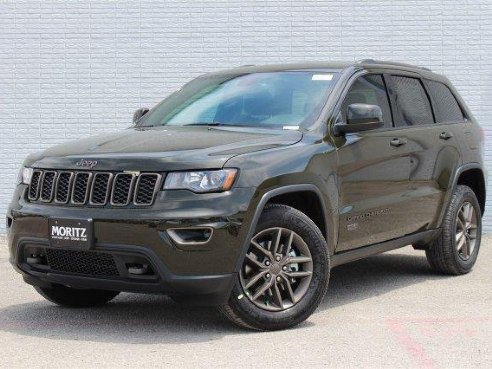 2016 jeep grand cherokee 75th anniversary for sale fort worth tx 3 6 l 6 cylinder recon green. Black Bedroom Furniture Sets. Home Design Ideas