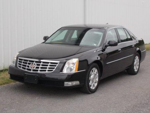 2010 cadillac dts for sale chambersburg pa 8 cylinder black id. Black Bedroom Furniture Sets. Home Design Ideas
