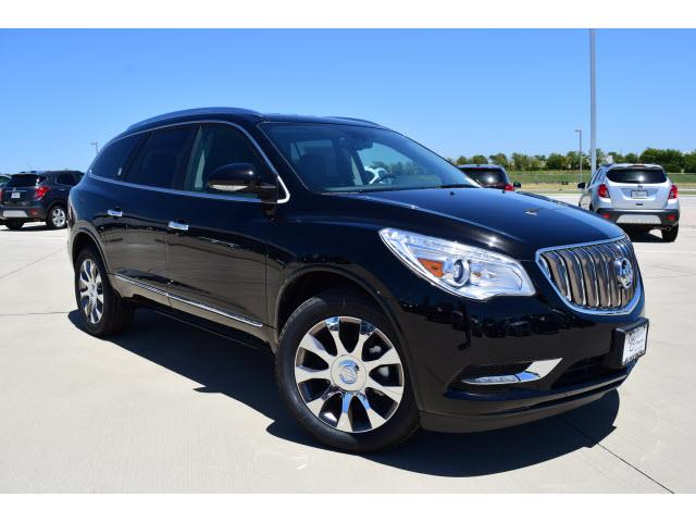 2017 buick enclave premium for sale cleburne tx 3 6 6 cylinder black. Black Bedroom Furniture Sets. Home Design Ideas