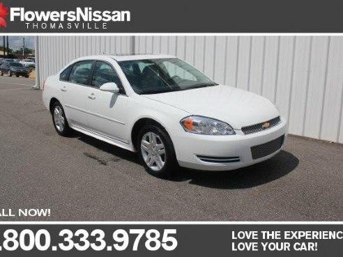 Flowers Nissan Thomasville Ga >> 2015 Chevrolet Impala Limited LT for sale, Thomasville GA, 3.6L V6 DGI DOHC VVT 6 Cylinder,White ...