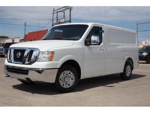 2015 nissan nv cargo 2500 hd sl for sale enid ok 5 6 8 cylinder white. Black Bedroom Furniture Sets. Home Design Ideas