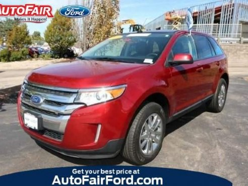 Ford Edge Sel Red Manchester Nh