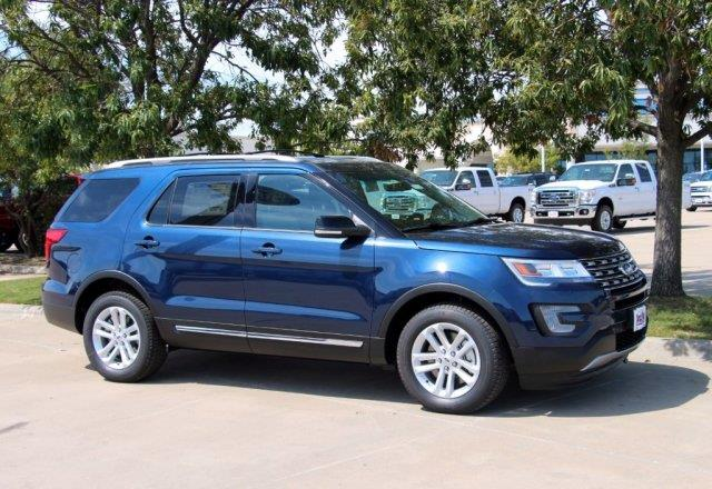 Southwest Ford Weatherford >> 2017 Ford Explorer XLT for sale, Weatherford TX, 3.5 L 6 Cylinder,Blue Jeans Metallic - www ...