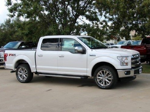 Southwest Ford Pre Owned Weatherford >> 2016 Ford F-150 Lariat for sale, Weatherford TX, 5.0 L 8 Cylinder,White Platinum Metallic Tri ...