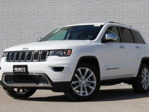 2017 Jeep Grand Cherokee Limited Bright White Clearcoat, Fort Worth ...
