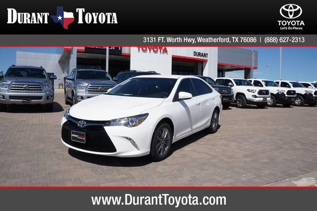 2017 Toyota Camry SE for sale, Weatherford TX, 2.5L I-4 DOHC SMPI ...