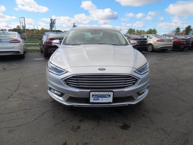 2017 Ford Fusion Anium Ingot Silver Portsmouth Nh